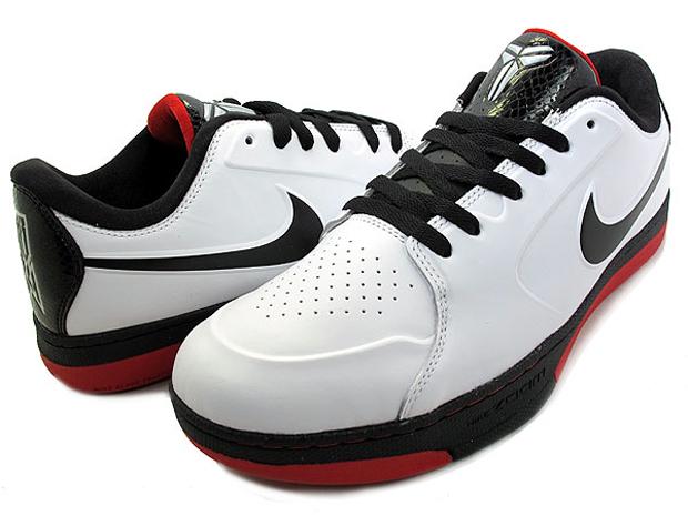 faf15e7266b7 Nike Zoom KB 24 White Black-Red
