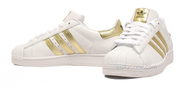 Adidas Superstar Gold Stripe