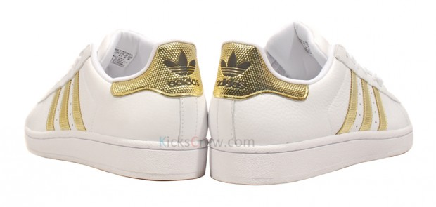 Gold Superstar adidas