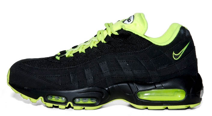 7ffdb7080e ... neon green 32069 b9441; clearance nike air max 95 black volt. by mike  irene. another colorway in the