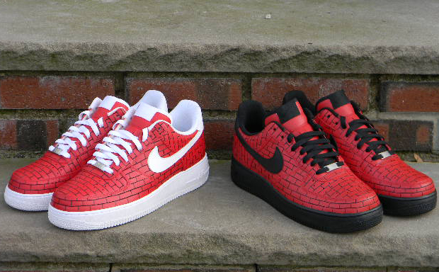Nike Air Force 1 Just Add Mortar Custom Home Of The Sole